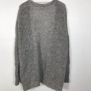 Free People Sweaters - Free People soft gray Cardigan S oversized